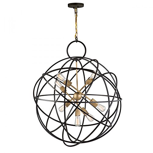 Artcraft Lighting AC10957 Chandelier, One Size, Oil Rubbed Bronze from Artcraft Lighting