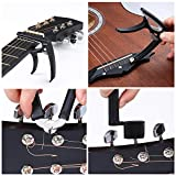 Auihiay 57 Pieces Guitar Strings Accessories Kit