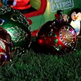 "Fiber Optic Huge Outdoor Christmas Yard Ornament Decoration 27 "" Diameter ~ $200 Off MSRP"