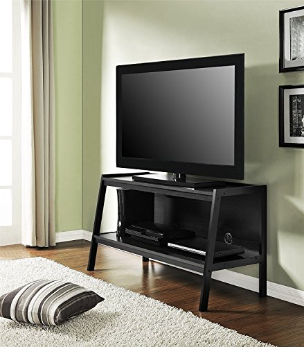 Premium TV Stand Entertainment Console Rack Rear for up to 45