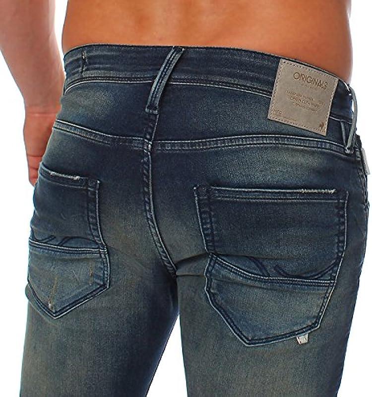 Jack & Jones męskie spodnie jeansowe Slim Knit Spodnie Glenn Fox Comfort Blue BL469 2. WybÓr: Odzież