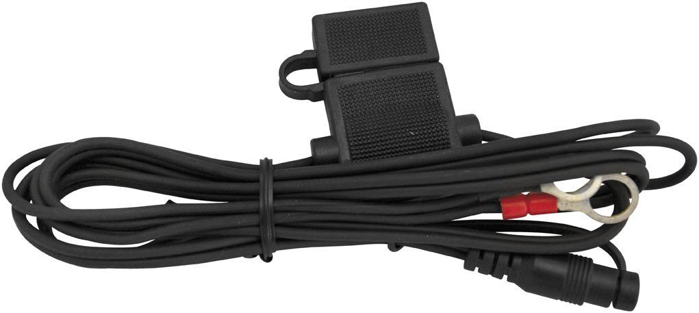 Heat Demon Battery Harness with Fuse Black