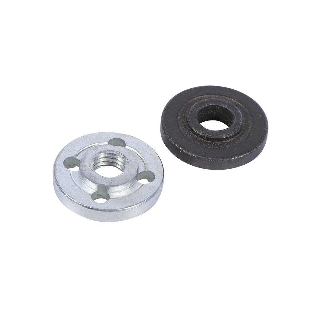 Angle Grinder Fitting, Asixx 1 Pair Replacement Electrical Angle Grinder Fitting Part Inner Outer Flange for Makita 9523