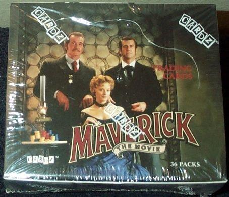 Maverick the Movie Trading Cards Box - 36 Count by Cardz ()