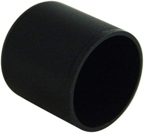 Gleiter//Stopfen//Endkappen Kunststoff f/ür Ovalrohre mit Wandst/ärke 1,5-2 mm Rohraussenma/ß 20x10 mm Farbe schwarz OL 4 St