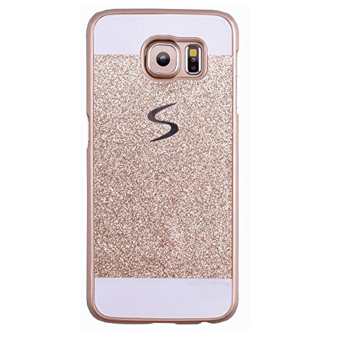 Galaxy S7 Case, ARSUE (TM) Beauty Luxury Hybrid Bling Rhinestone Diamond Crystal Glitter Hard Case Cover Shell Phone Case for Samsung Galaxy S7 (Gold) (Samsung Galaxy S4 Stussy Case)