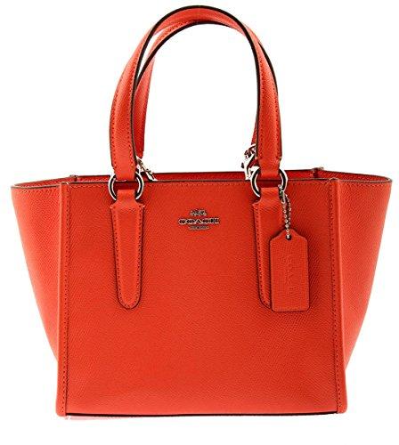 COACH Crossbody Carryall 21 In Crossgrain Leather, - Handbags Coach Colorful