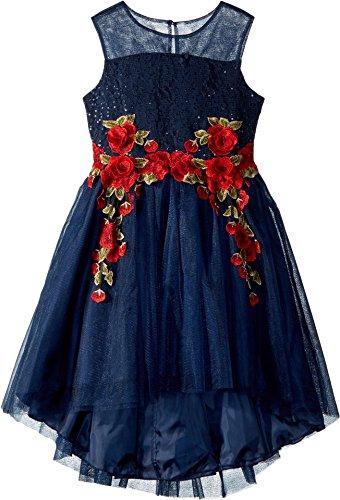 high low bodice dress - 4