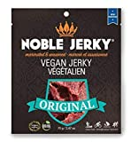 Noble Vegan Jerky – Original – Vegan and Vegetarian Snacks, NON GMO , 2.47 oz per pack with 14 grams of protein For Sale