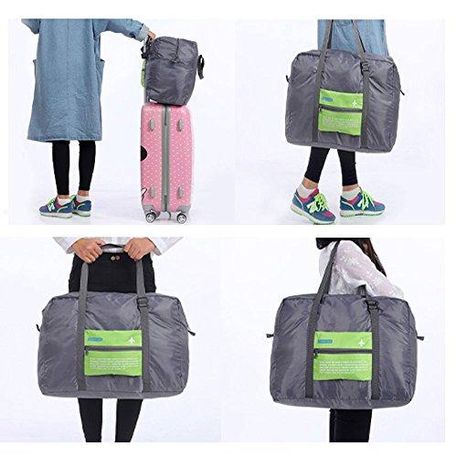 Tragbare Tasche, 32L aufrollbare Gepäck kann für Sport, Fitness, Urlaub und Reise-Gepäcktaschen an den Koffer Griff und Gepäck befestigt werden