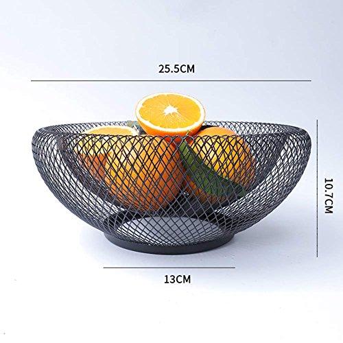 Crewell Creative - Cesta de Drenaje para Frutas, diseño geométrico, 1: Amazon.es: Hogar