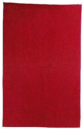 Ikea Toftbo Tapis De Bain Rouge Microfibre Extra Doux A Sechage Rapide 60x90cm Amazon Fr Cuisine Maison