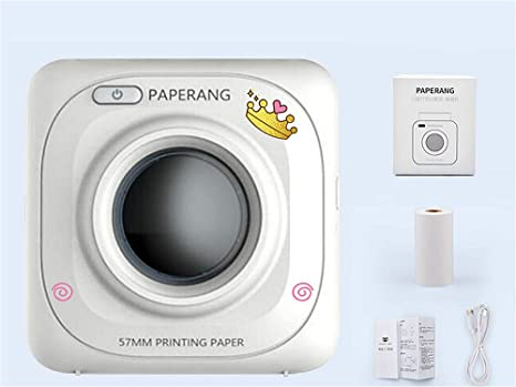 Amazon.com: Mini impresora de bolsillo con Bluetooth ...