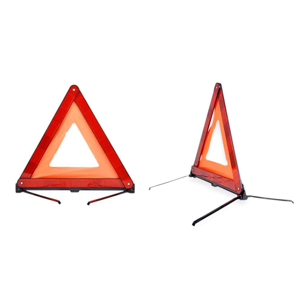Hihey Warndreieck KFZ unkompliziert einsetzbar f/ür Unf/älle und Pannen zu Ihrem Schutz und Sicherheit,f/ür Notfall