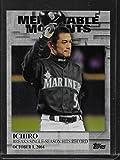 2017 Topps Series 2 Baseball Memorable Moments #MM-45 Ichiro Mariners
