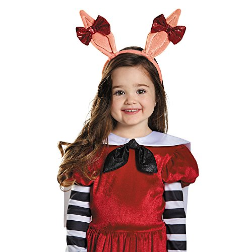 Disguise 86335 Olivia Ears Costume, Small (Up to Size 6)