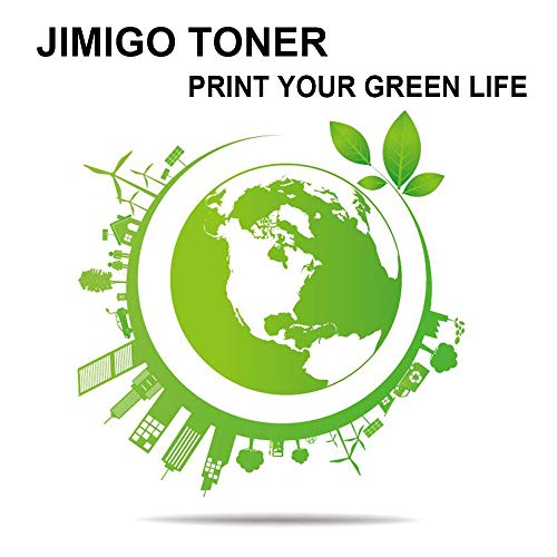 JIMIGO 1 Black 83A CF283A Compatible Toner Cartridges Replacement for HP 83A CF283A, Work with HP Laserjet Pro M201dw M201n, MFP M127fw M127fn M127fp M127fs M225dw M225dn M125nw M125rnw M125a Printer Photo #5