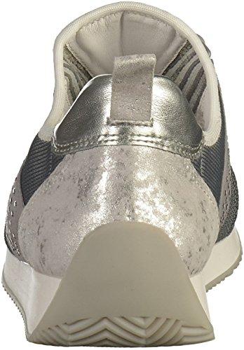 ara 12-34036 G Damen Sneakers Grau(Hellgrau/Silber)