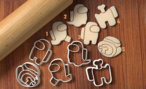 Alive + Dead Among Us Cookie Cutter Set