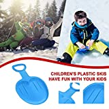 Xiazheuy Kids Snow Sled with Handles, Outdoor