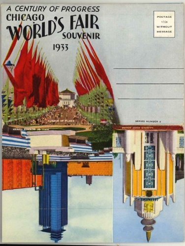 World's Fair 1933 (A Century of Progress International Exposition) Chicago (1930's Souvenir Postcard Folder - Series 2) Illinois
