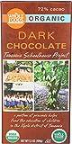 Whole Foods Market, Organic Dark Chocolate Tanzania Schoolhouse Project (72% Cacao), 3.5 Ounce