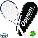 oppum Adult Carbon Fiber Tennis Racket, Super Light Weight Tennis Racquets