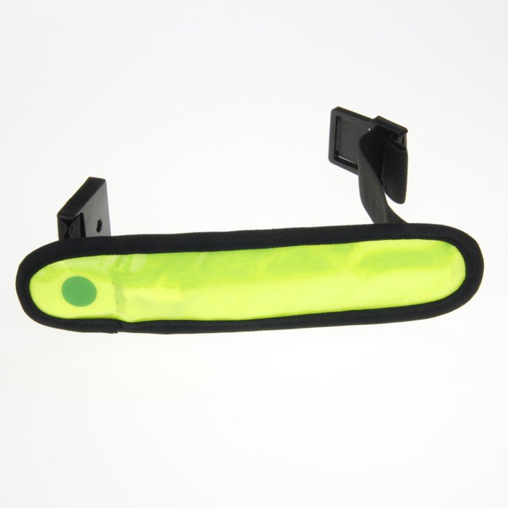 ACEVER LED High Visibility Flashing Safety Armband Cycling Jogging Walking Reflective LED Armband (Green) Acever International (Asia) Co. Ltd. SWD-GQ-8 (Pink)