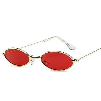 YLNJYJ Diseñador De La Marca Gafas De Sol Ovaladas De Las ...
