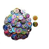 POG Milk Cap and Slammers Game POGS Milkcap Assortment - 102 Pc