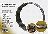 Razor Wire 18'' Coils Galvanized Razor Ribbon