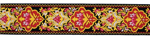 (Dove of the East Samovar Brocade Ribbon for Scrapbooking, 1-Yard)