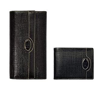 Renato Landini Black Leather For Unisex - Bifold Wallets
