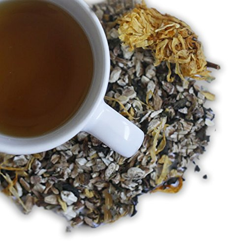 Modest Earth Beauty Detox Tea | 100% ORGANIC Glowing Skin Home Routine | Liver Cleansing & Detoxifying Aid | CLEAR ACNE, Natural Wrinkle Remedy | Anti aging Antioxidant Drink | 20+ SERVINGS (2.97 OZ) - incensecentral.us