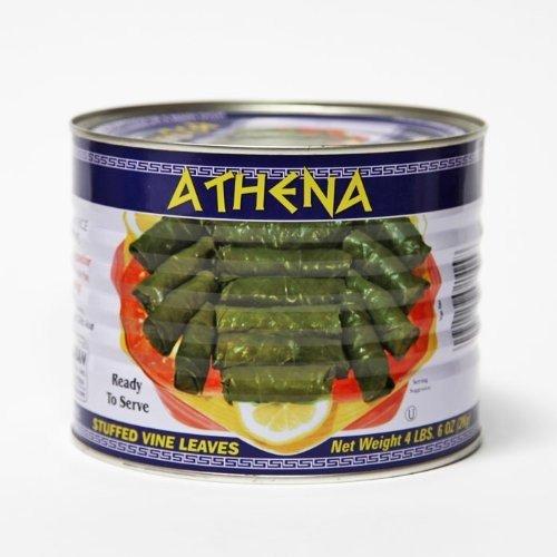 Athenas Dolmades Athena Stuffed Vine Leaves, 4.4 lb, 1 Can by Athenas Dolmades