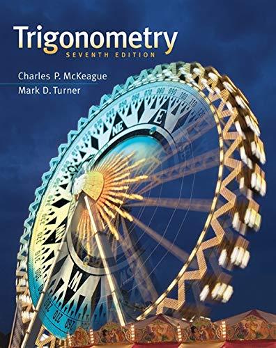 Trigonometry (Tables Trigonometry)