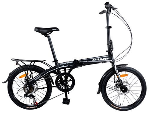 Camp 20' Alloy 7 Speed Folding Bike Disc Brake Super Sonic