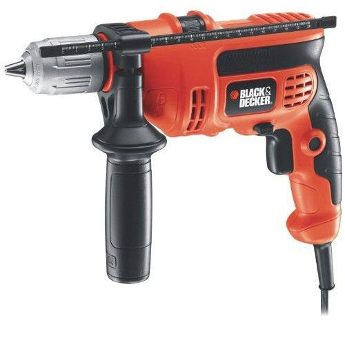 Black & Decker Power Tools DR670 6.5 Amp 1/2 inch Corded VSR Hammer Drill