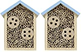 (2 Pack) Nature's Way Bird Products Better Gardens Beneficial Insect House for Pollinators