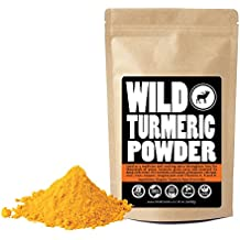 Raw Turmeric Powder Made from Organically Grown Turmeric, Fair Trade, Single-Origin Bulk Ground Turmeric Root Powder (8 ounce)