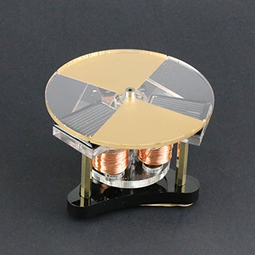 Yamu Mini Disk Engine Round Solar Magnetic Levitation Motor Toys