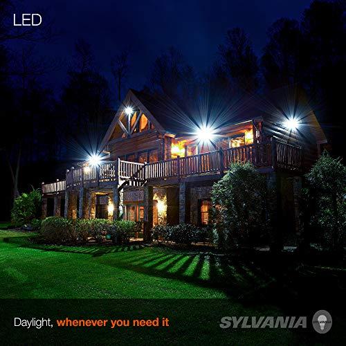 SYLVANIA Ultra LED Night Chaser, PAR38, 250W Equivalent, 2650 Lumen, Replacement for Halogen Flood Spot Light, Medium Base E26, Dimmable, 5000K Daylight