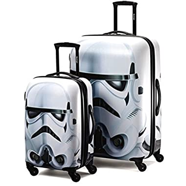 American Tourister Star Wars 2 Piece Set 21 & 28 Hardside Spinner (One Size, Star Wars Stormtrooper)
