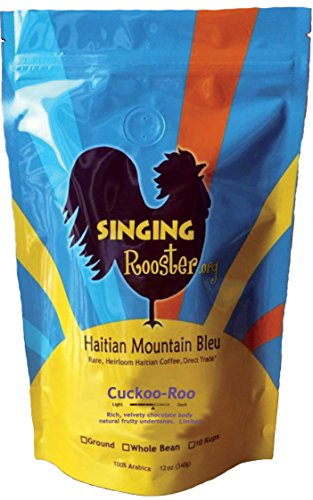 Haitian Coffee, Cuckoo-Roo, 12oz - WHOLE BEAN