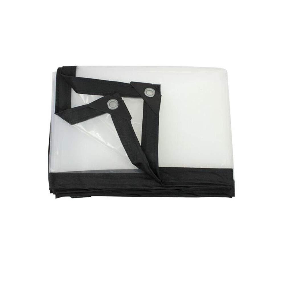 CJC トランスペアレント テント 耐寒性 ターポリン 接地 シート カバー プラスチック シート (サイズ さいず : 5x8m) 5x8m  B07H5P6VBL