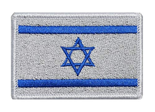 nouler Flag Embroidery Velcro Armband Cloth Japan Japan Israel Turkey Sticky and Ready to Use,Israel,One Size