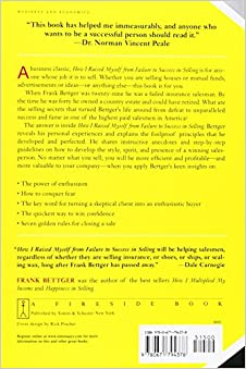 Download bettger i to success from how frank raised failure in myself selling