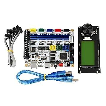 TOOGOO Accesorios De Impresora 3D F5 Placa De Control Principal + ...