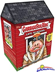 2020 Topps Garbage Pail Kids Series 1 LATE TO SCHOOL EXCLUSIVE Factory Sealed Value Box with Special CLASS SUPERLATIVES BONUS STICKERS! Look for Autographs, Sketch Cards & Printing Plates! WOWZZER!