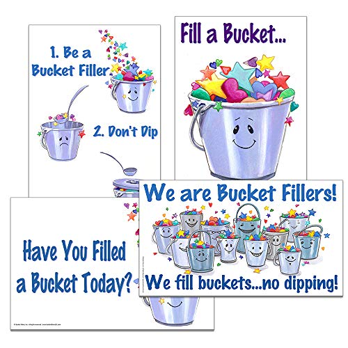 - Value Pack - Posters 1-4 by Bucket Fillers, Inc.